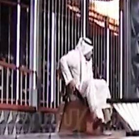 بالفيديو: لحظة احتراق استوديو قناة كويتية مباشرة على الهواء