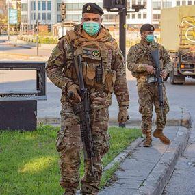 الجيش يتّخذ إجراءات لمنع التجوّل
