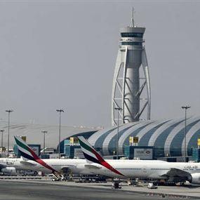 استهداف مطار دبي بطائرة مسيّرة