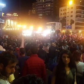 المحتجون في الزوق: خطاب نصرالله يمسّ بكراماتنا