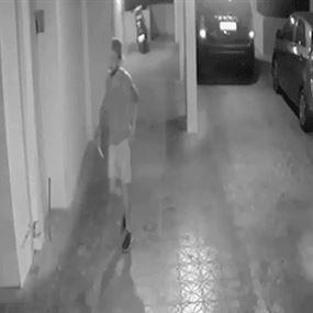 بالفيديو.. سرقة على بعد أمتار من سجن رومية المركزي