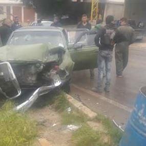 جرحى بحادثي سير على طريق عكار