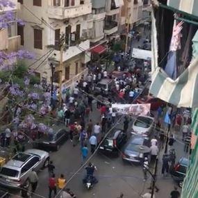 بالفيديو: اشكال واطلاق نار بين الاحباش وتيار المستقبل