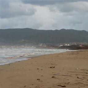 اكياس مخدرات على شاطىء الرميلة