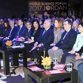 إختتام المنتدى العالمي للعلوم 2017 في الأردن
