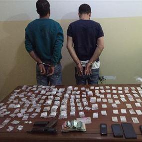 متخصصان بترويج المخدرات في كسروان وبمحيط كازينو لبنان