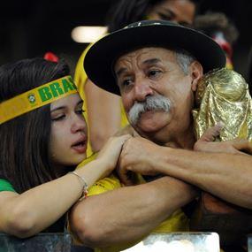 اشكالات متفرقة وتضارب بين مشجعي الالمان والبرازيل