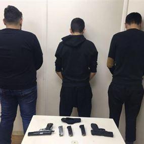 بالصورة: اخطر عصابات السطو المسلح في قبضة شعبة المعلومات