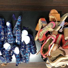 بالصور: في مطار بيروت.. خبّأ الكوكايين داخل الأحذية!
