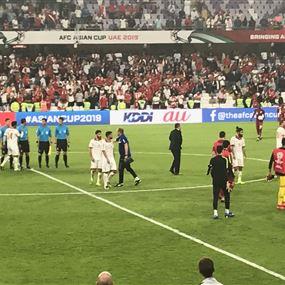 قطر فازت على لبنان بهدفين نظيفين