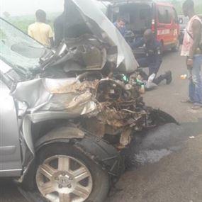 بالصور: حادث مأساوي يودي بحياة كمال وابنه محمد في ساحل العاج