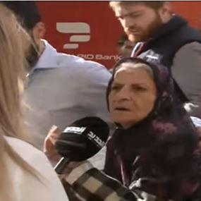 بالفيديو: الحجة مريم دخلت بيت الوسط براية حزب الله!