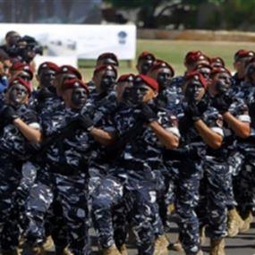 ترقية 557 رتيباً في قوى الأمن الداخلي