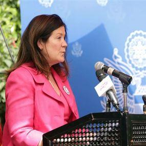 السفيرة الأميركية في بيروت تردّ على نصرالله