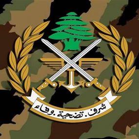 بيان من قيادة الجيش حول الكمين الذي تعرّضت له دورية في الهرمل
