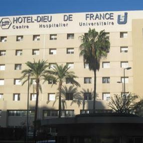 مستشفى أوتيل ديو: استقبلنا مصاباً بكورونا ونشتبه بحالتين أخريين