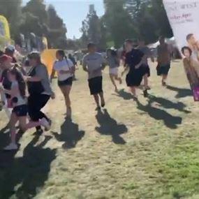 بالفيديو: قتلى وجرحى بإطلاق نار بمهرجان في كاليفورنيا