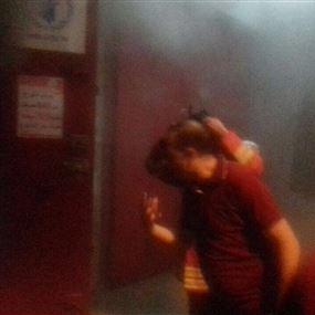 بالصور: اخماد حريق داخل تعاونيّة برج ابي حيدر