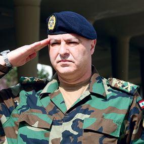 قائد الجيش للعسكريين: أنتم تسهرون لتكتمل فرحة العيد