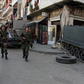 داتا إرهابيين من عين الحلوة في قبضة الجيش