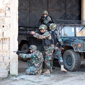 مطلوب يطلق النار باتجاه عميد في الجيش اللبناني