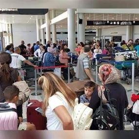 إعلان من رئاسة مطار بيروت للمسافرين المغادرين