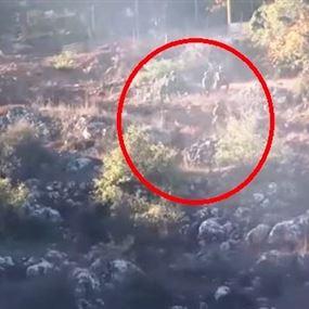 بالفيديو.. جنود اسرائيليين يجتازون السياج التقني عند حدود لبنان