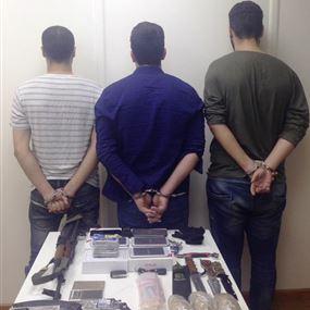 بالصورة: عصابة متخصصة للسرقة في بيروت وجبل لبنان