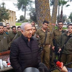 نتنياهو يهدد بتوجيه ضربة إلى حزب الله