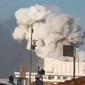 فيديو جديد للحظة انفجار مرفأ بيروت...