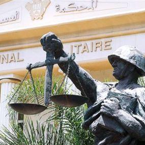 أبو محمدين يمثل امام المحكمة العسكرية