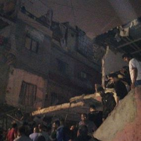 بالصور والفيديو: انفجار قارورة غاز في صبرا