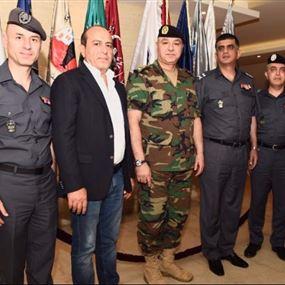 بالصور.. قائد الجيش في مقر قوى الأمن الداخلي
