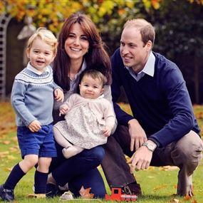 هكذا احتفلت العائلة الملكية البريطانية بعيد ميلاد الأمير جورج!
