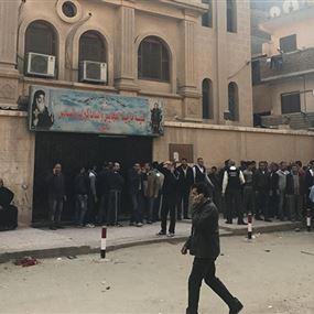 تفاصيل الهجوم على كنيسة مارمينا العجايبي في حلوان