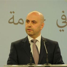 حاصباني: من يرفض الخصخصة فليتحمل مسؤولية إفلاس لبنان