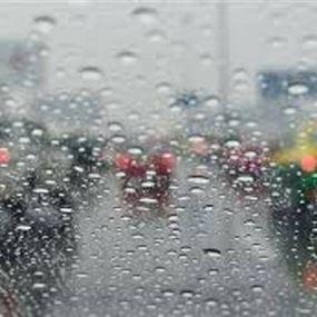 جريحان بسبب غزارة الامطار