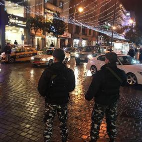 انتشار أمني غير مسبوق في شوارع الحمرا