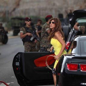 نجوى كرم للجيش: ريس ع روسنا وعقلوبنا ملك