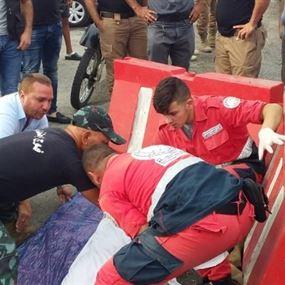 سيارة تابعة لفوج الإطفاء تدهس إمرأة عن طريق الخطأ