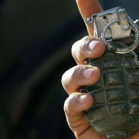 إلقاء قنبلة يدوية امام مقهى حمدان في صور
