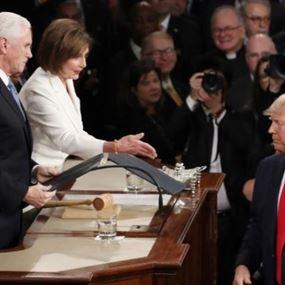 بيلوسي تمزّق خطاب ترامب والبيت الأبيض يرد