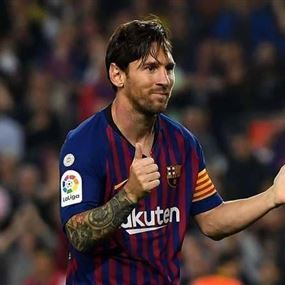 برشلونة يعلن عودة ميسي قبل الأوان