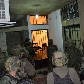 عمليات دهم للجيش في الهرمل والشواغير