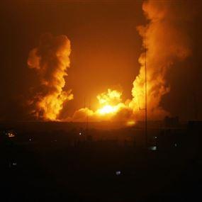 إسرائيل تقصف مدينة القنيطرة السورية