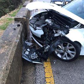 جريحتان جراء حادث سير على طريق عام غادير