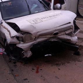 جريحان بحادث سير في ريفون