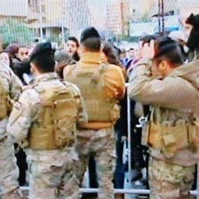 بعد أحداث يوم أمس أمام منزل كرامي.. توضيح من قيادة الجيش