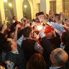 متى تصل شعلة النور المقدس الى بيروت؟