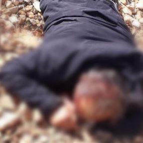 العثور على جثة شخص في خراج بلدة النبي شيت